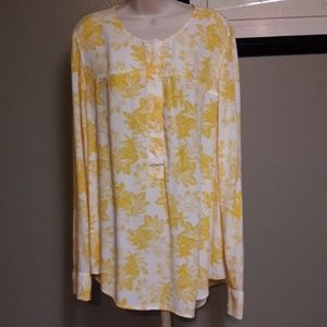 J.Crew Blouse Long Sleeve So Nice XL